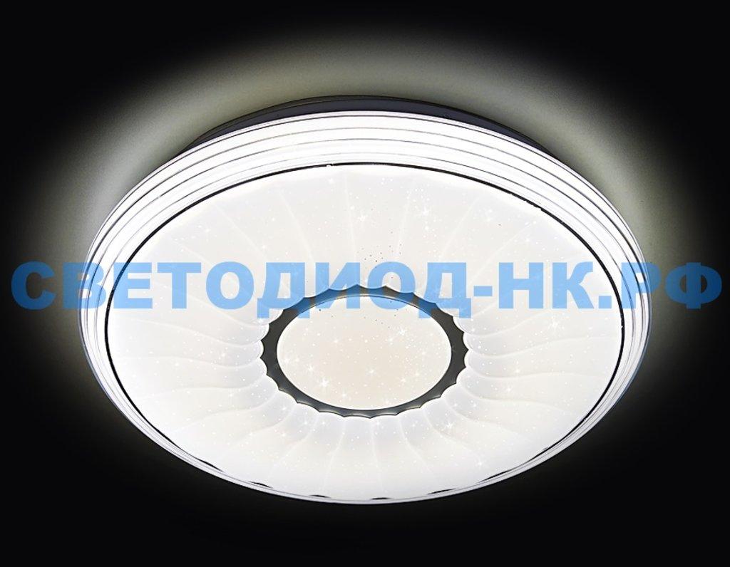 AMBRELLA: СВЕТИЛЬНИК AMBRELLA F11 WH 72W D400 ORBITAL МНОГОФУНКЦИОНАЛЬНЫЙ (ПДУ) в СВЕТОВОД