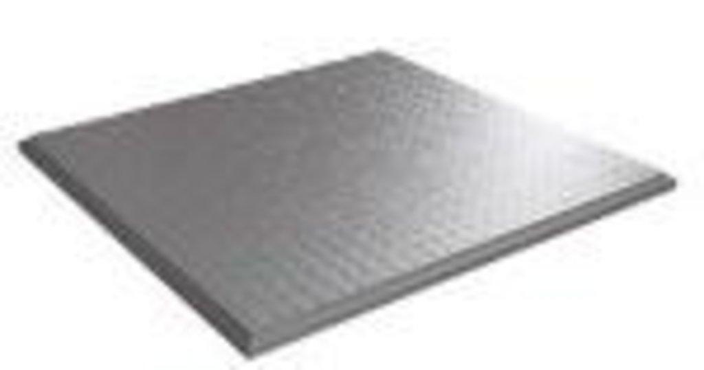 Кассетные металлические потолки: Кассетный потолок  Line 600*600 Line белый матовый 3306 Cesal в Мир Потолков