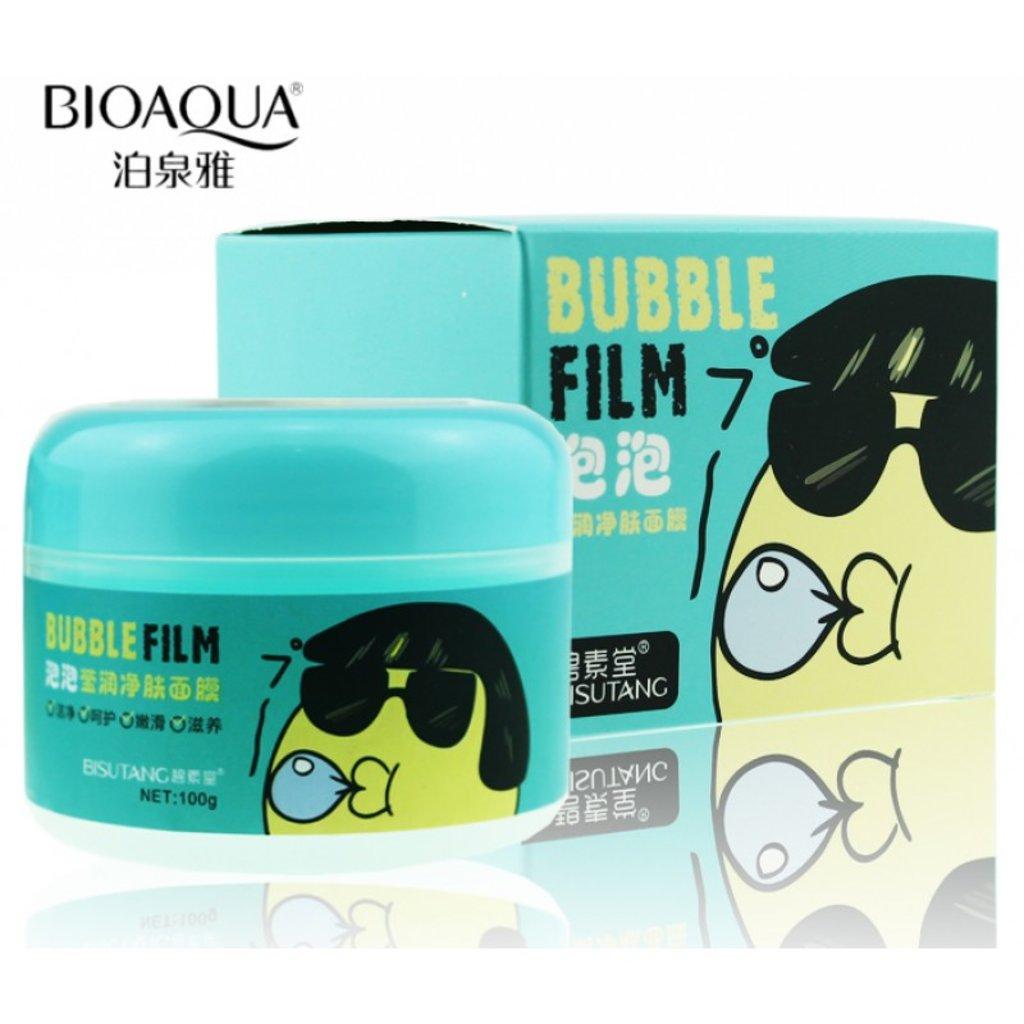 Маски: Кислородная маска-пенка для лица Bubble Film Bisutang 100г в Мой флакон