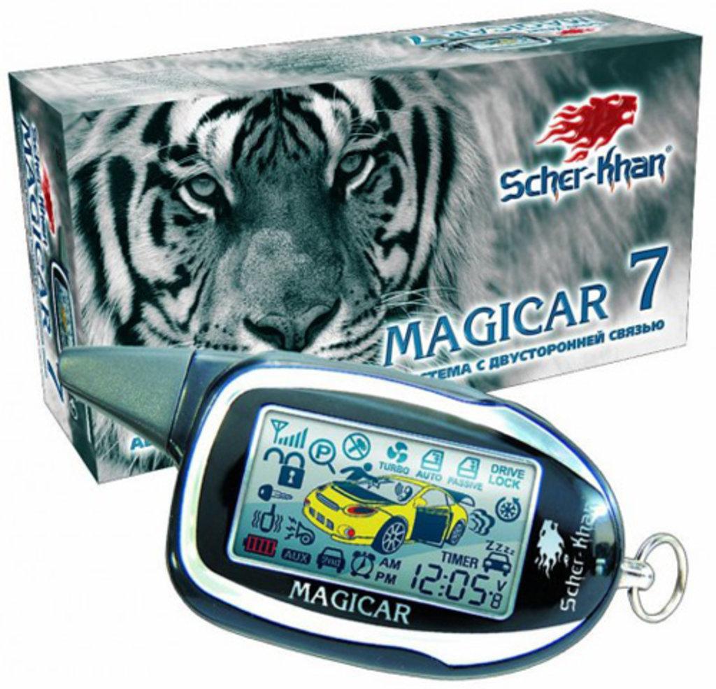 Автосигнализации с автозапуском: Sher-Khan Magicar 7 в Безопасность