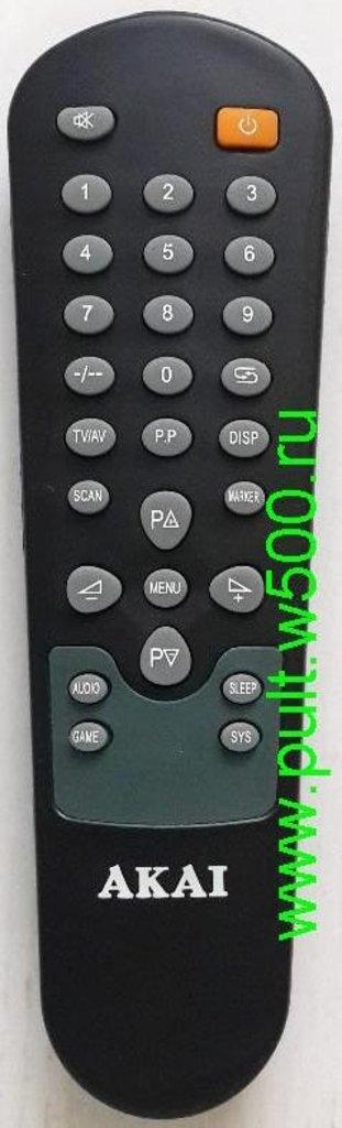 AKAI: Пульт AKAI XY-KJ003 (TV 14CTN02BM ) оригинал в A-Центр Пульты ДУ