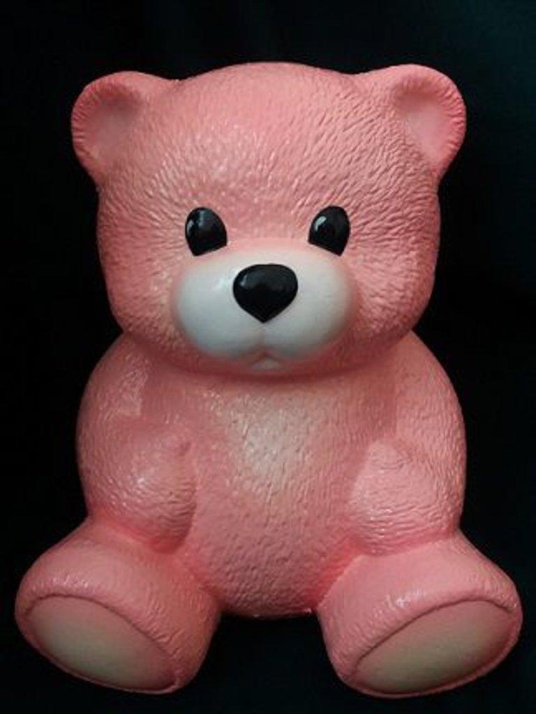 """Пенопласт: """"Медвежонок  розовый"""" окрашен. пенопласт в Шедевр, художественный салон"""