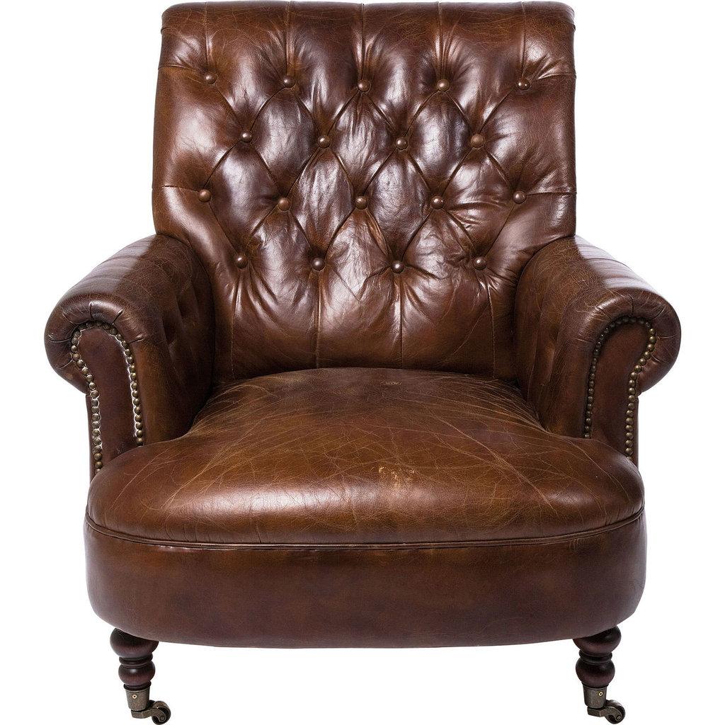 """Кресла: Кресло кожаное """"Людовик"""" в Амадео"""