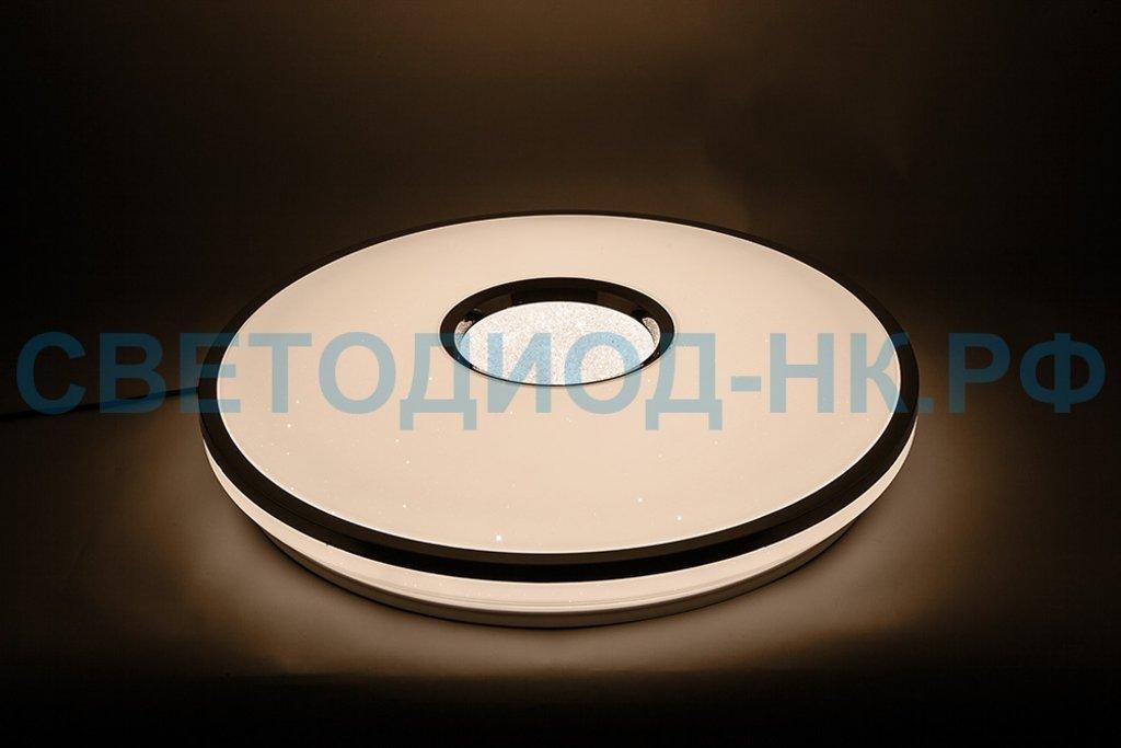 FERON: Светодиодный управляемый светильник накладной Feron AL5100 тарелка 60W 3000К-6500K белый в СВЕТОВОД