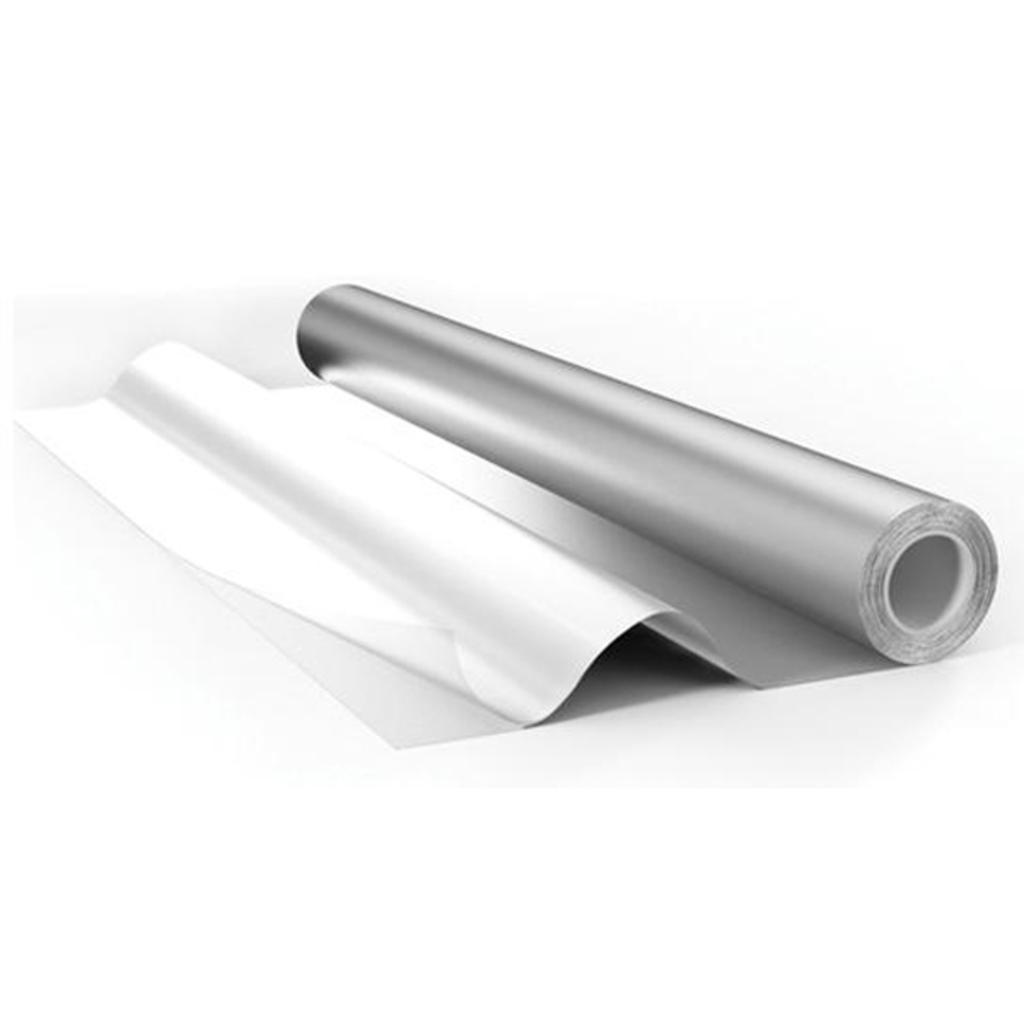 Комплектующие для саун: Фольга алюминевая 50 МКМ 12 метров квадратных в Пять звезд, ООО