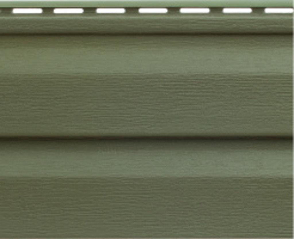 Акриловый сайдинг: Панель акриловая Аляска Люкс Грин - 3,00 х 0,205 м.* в АНЧАР,  строительные материалы