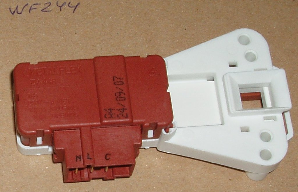Термоблокировка люка для стиральной машины (УБЛ): Термоблокировка WF244 для стиральных машин Вирпул (Whirlpool), Вестел (Vestel) в АНС ПРОЕКТ, ООО, Сервисный центр