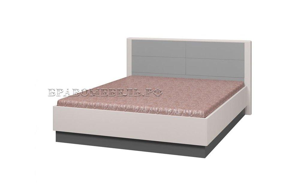 Спальный гарнитур Вива: Кровать Вива двойная без металлокаркаса в Уютный дом
