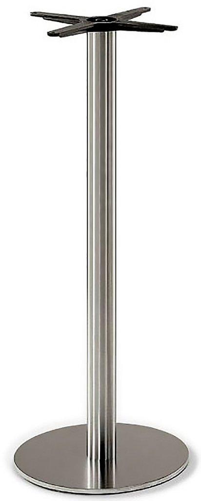 Подстолья для столов.: Подстолье барное 1252EM (нержавеющая сталь матовое) в АРТ-МЕБЕЛЬ НН