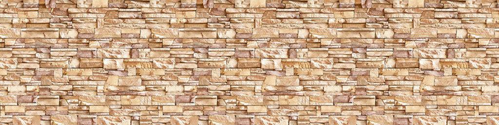 Декоративные интерьерные панели (фартуки для кухни): Интерьерная декоративная панель Камень соренто (3х0,6м) в Мир Потолков
