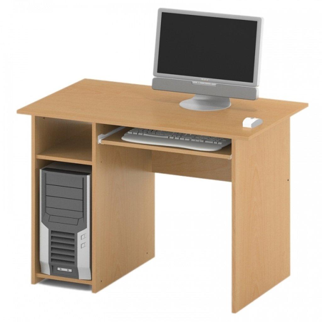 Офисная мебель столы, тумбы ПР-26: Стол компьютерный (26) 1200*600*750 в АРТ-МЕБЕЛЬ НН