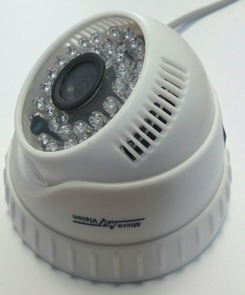 Аналоговые видеокамеры (AHD): Видеокамера Micro Vision MV-812 в Микровидео