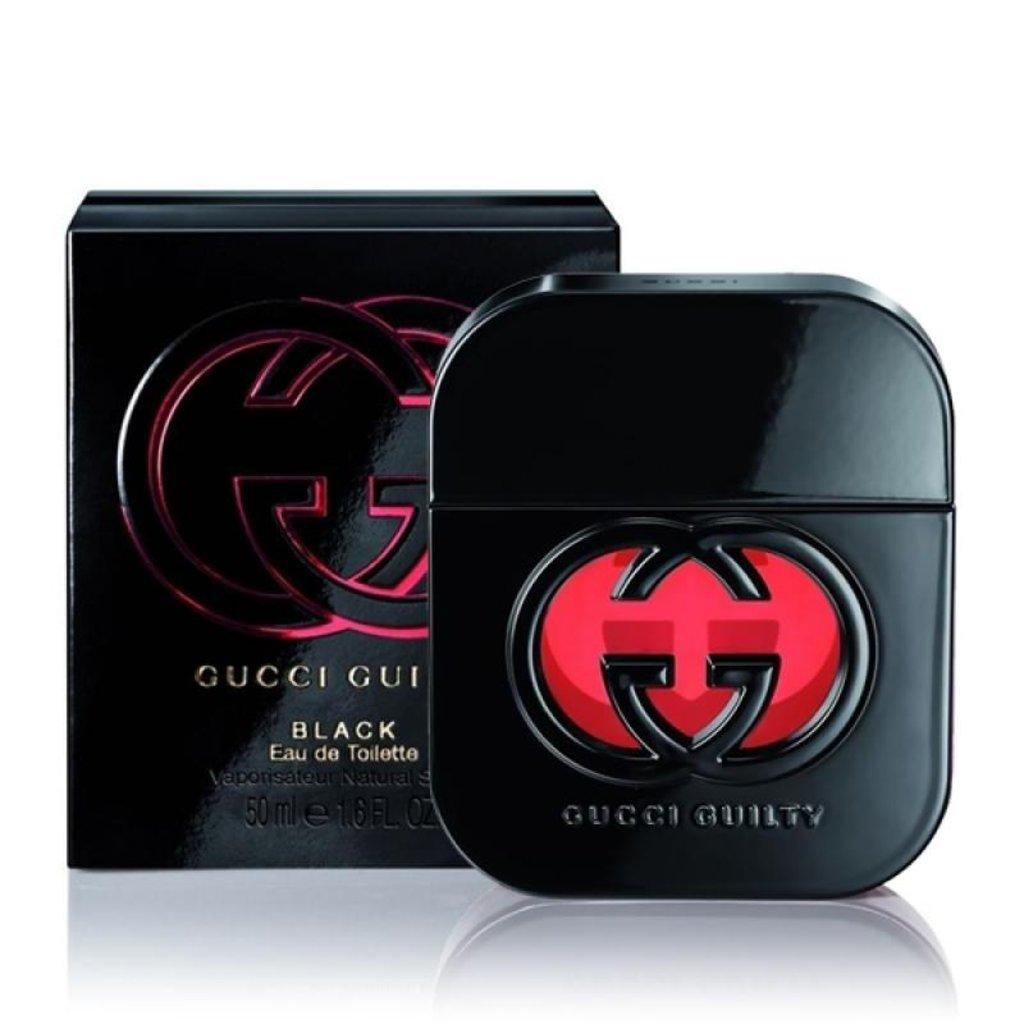 Женская туалетная вода: Gucci Guilty Black Pour femme 75ml в Мой флакон