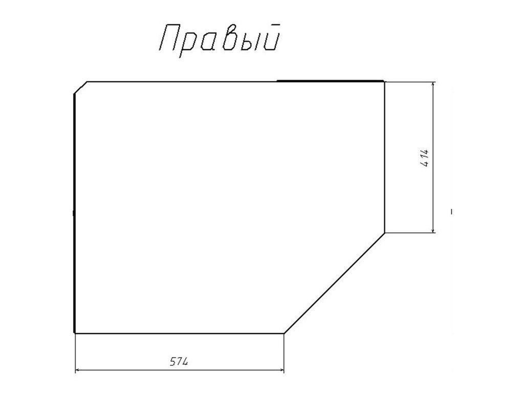 Детские шкафы и стеллажи: Шкаф угловой правый НМ 013.04-02 ПР Фанк в Стильная мебель