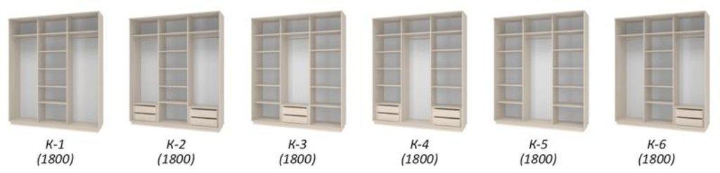 Шкаф-купе Честер: Полки для шкафа-купе Честер - 4 штуки (ШК-2, ШК-3) в Уютный дом