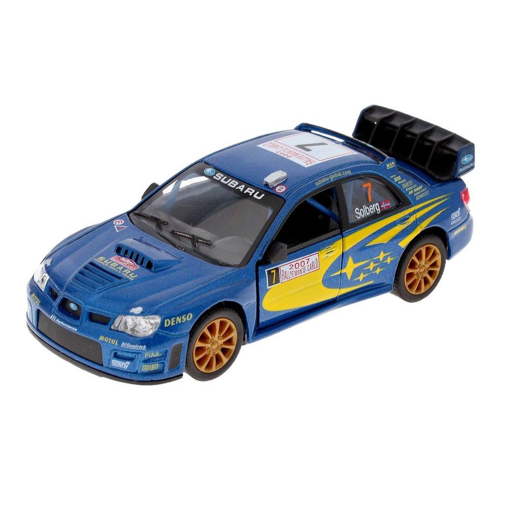 Игрушки для мальчиков: Subaru Impreza (Субару Импреза). Металлическая модель. в Игрушки Сити