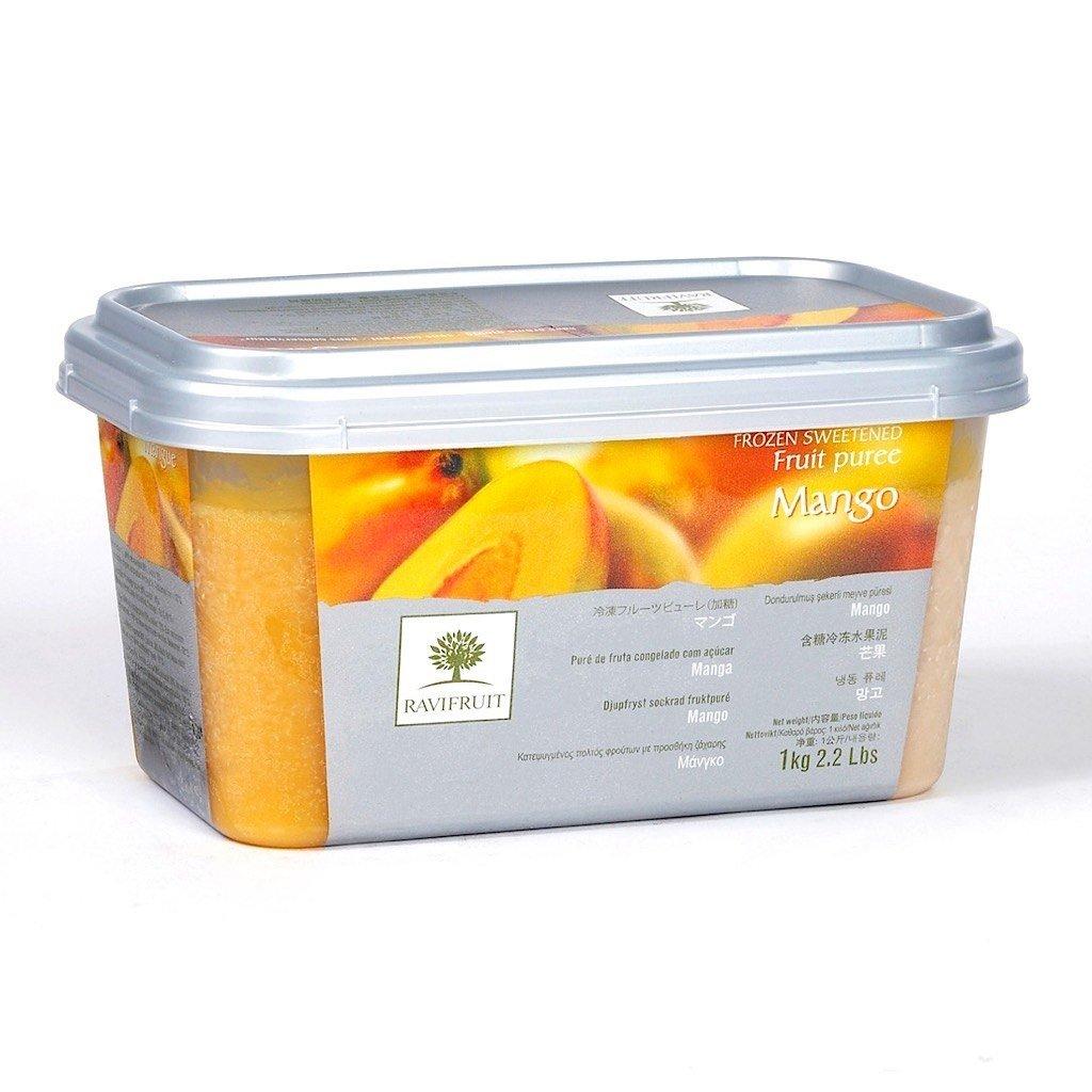 Фруктовое пюре: Пюре Ravifruit Манго,1 кг в ТортExpress