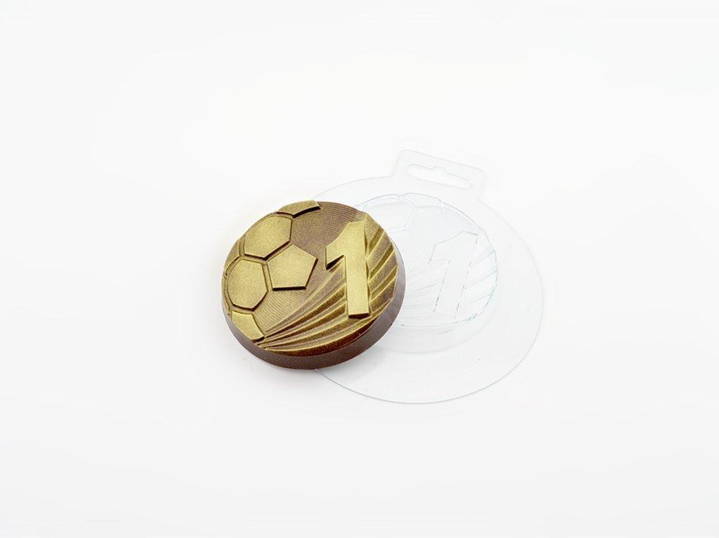 Пластиковые формы для шоколада: Пластиковая форма для шоколада Медаль Лучший футболист в ТортExpress
