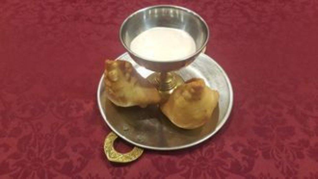Закуски: Самосы (овощные) в Ganga
