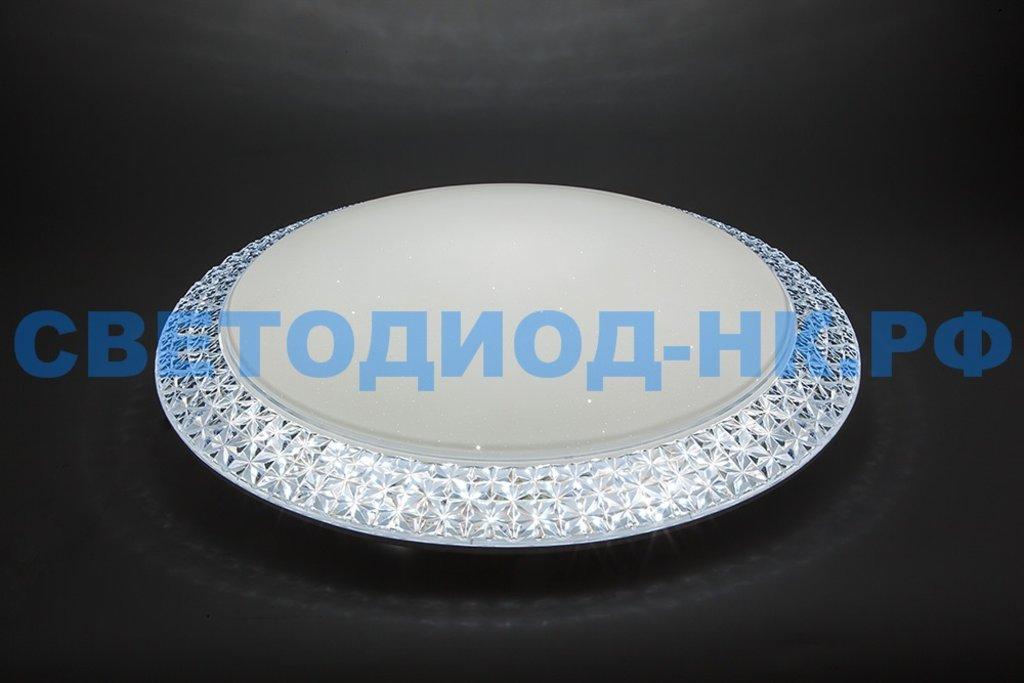 FERON: Светодиодный управляемый светильник накладной Feron AL5350 тарелка 60W 3000К-6500K белый в СВЕТОВОД