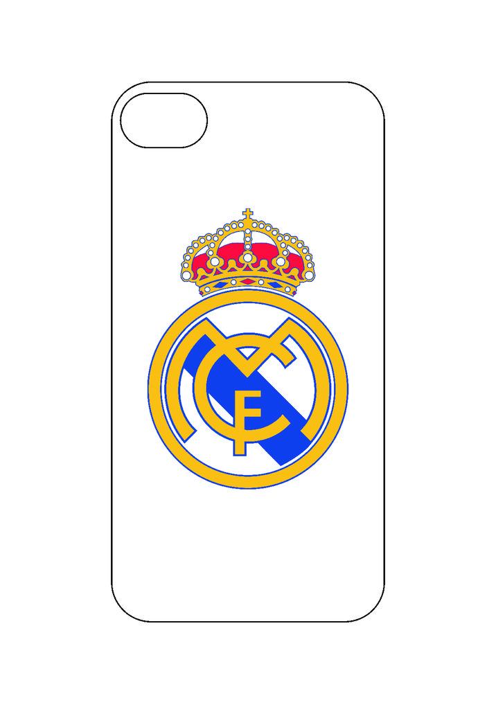 Выбери готовый дизайн для своей модели телефона: Реал Мадрит в NeoPlastic