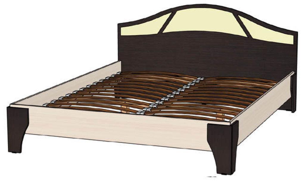 Кровати: Кровать Верона (1600, орт. осн. дерево) в Стильная мебель