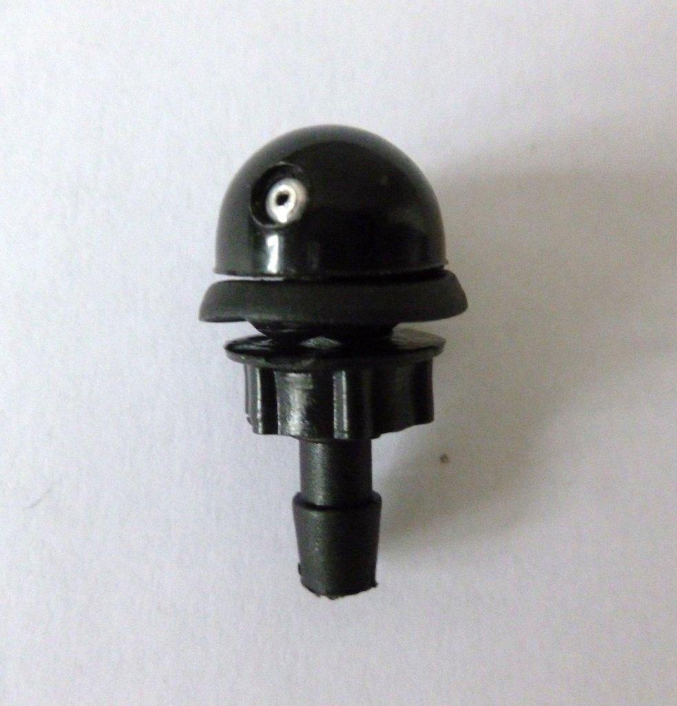 Аксессуары для кузова автомобиля, общее: жиклёр омывателя одинарный круглый с гайкой в Автоцентр