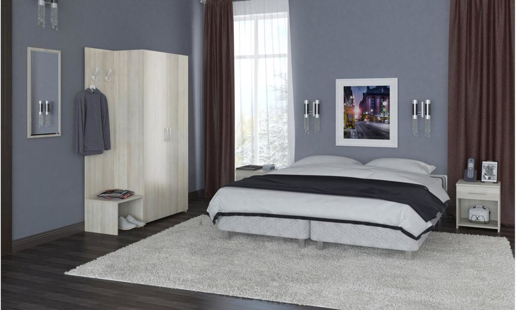 Мебель для гостиниц: Шкаф-вешалка Чемоданница в Уютный дом