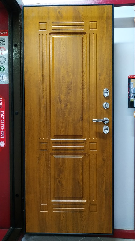 Двери Аргус: Дверь для коттеджа с терморазрывом ТЕПЛО-1 | Аргус в Двери в Тюмени, межкомнатные двери, входные двери
