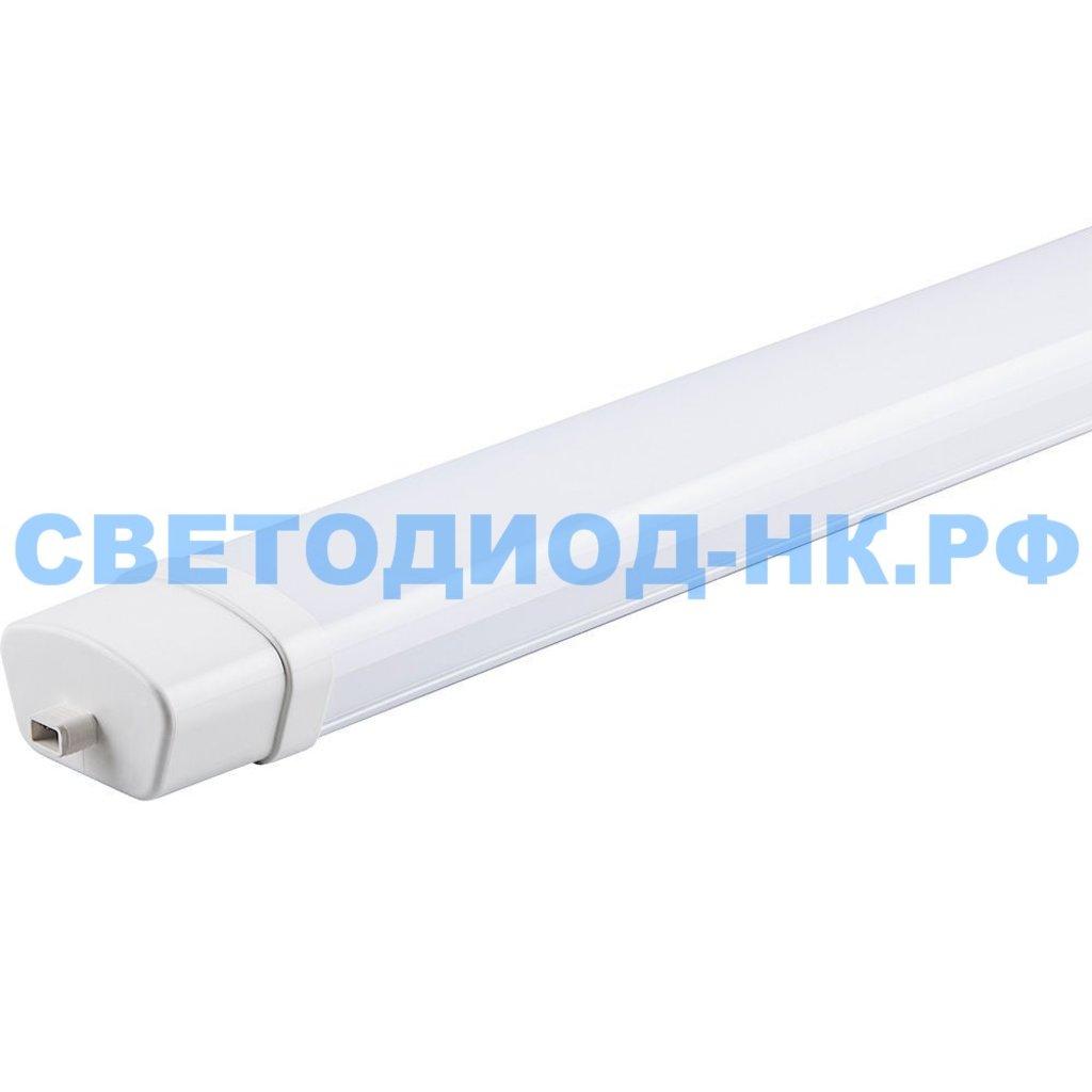 Линейные светильники: Светодиодный светильник AL5095 36W 3600Lm 4000K, в пластиковом корпусе, 1210*70*43мм Возможность соединения в линию в СВЕТОВОД