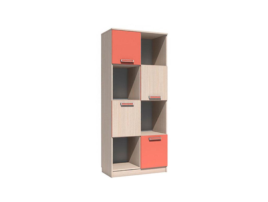 Детские шкафы и стеллажи: Шкаф для книг НМ 009.06 Рико в Стильная мебель