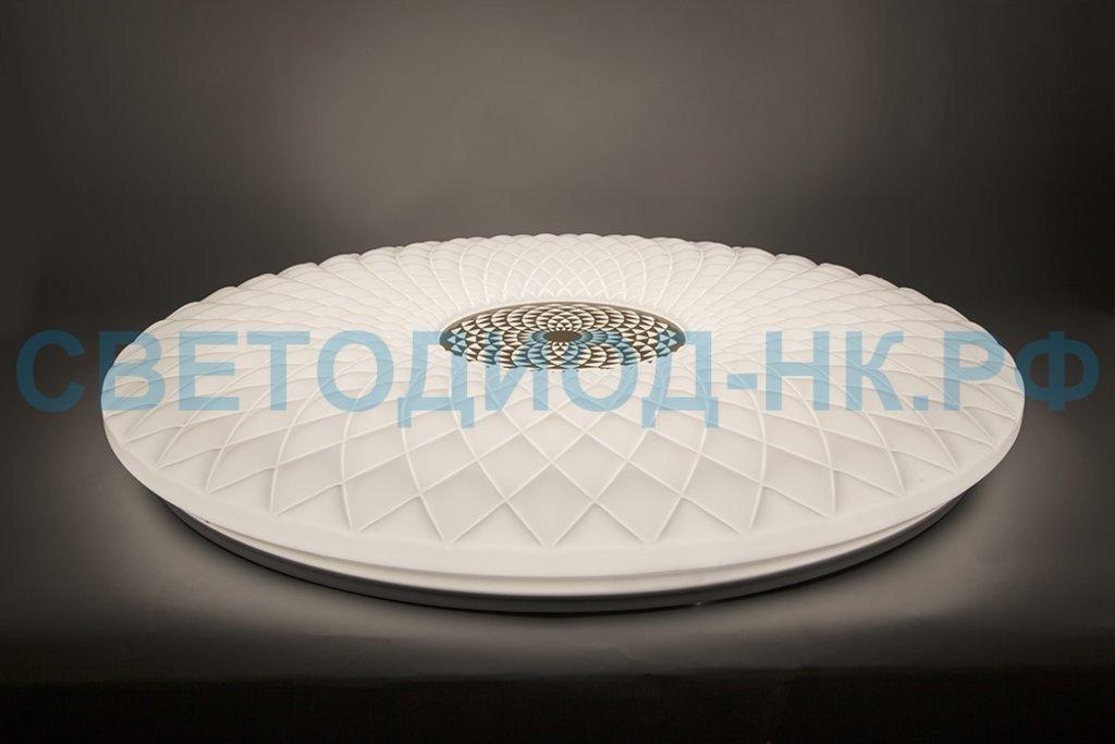FERON: Светодиодный управляемый светильник накладной Feron AL5250 тарелка 60W 3000К-6500K матовый белый в СВЕТОВОД