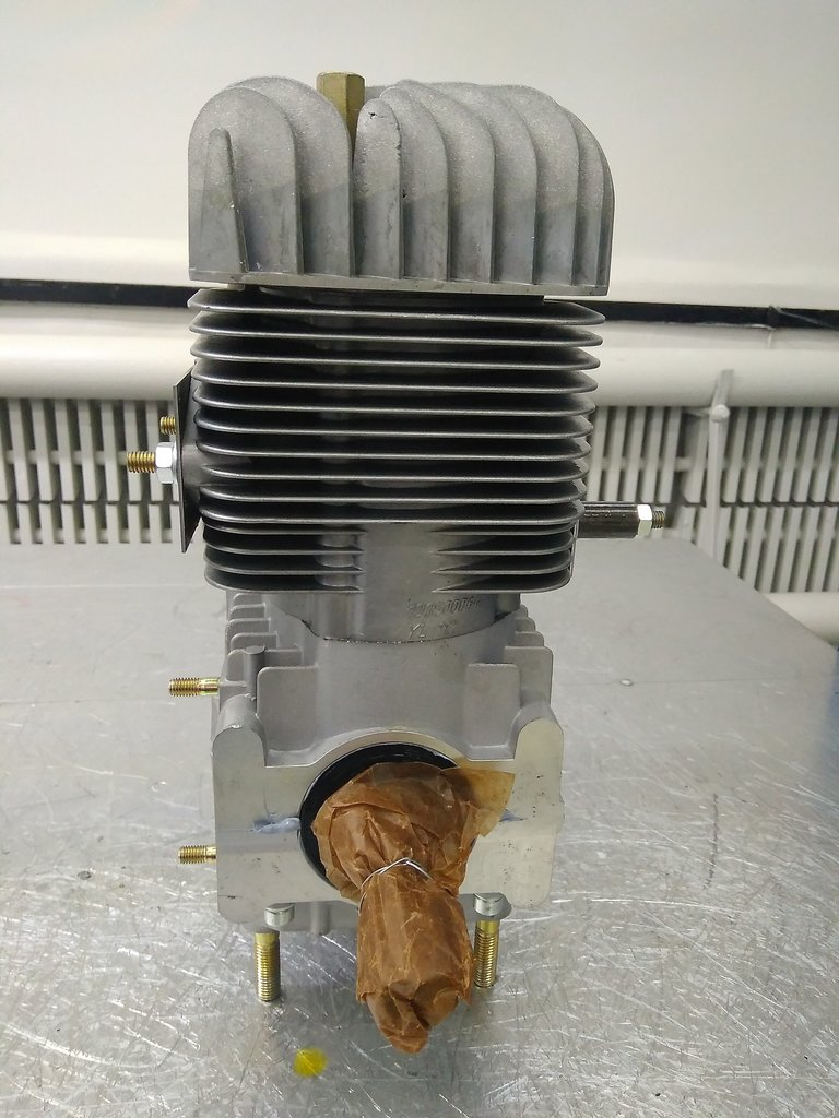 Запчасти для снегоходов РМ: Двигатель на буран 3 комплектности РМЗ-640-34 110502800 в Базис72
