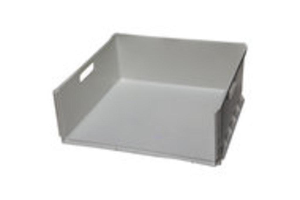 Запчасти для холодильников: Средний ящик морозильной камеры Ariston (Аристон), Indesit (Индезит), Stinol (Стинол), MIDDLE DRAWER, 440X406X160мм, белый, 075593 в АНС ПРОЕКТ, ООО, Сервисный центр