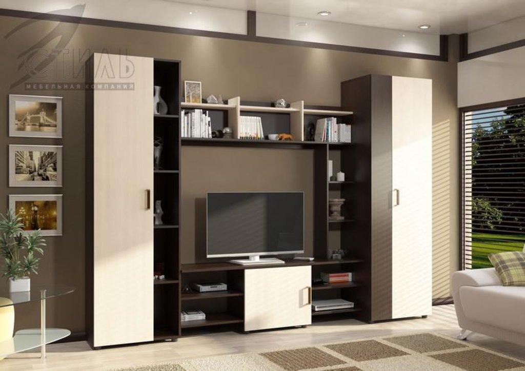 Гостиные: Мебель для гостиной Атлантида - 10 в Диван Плюс