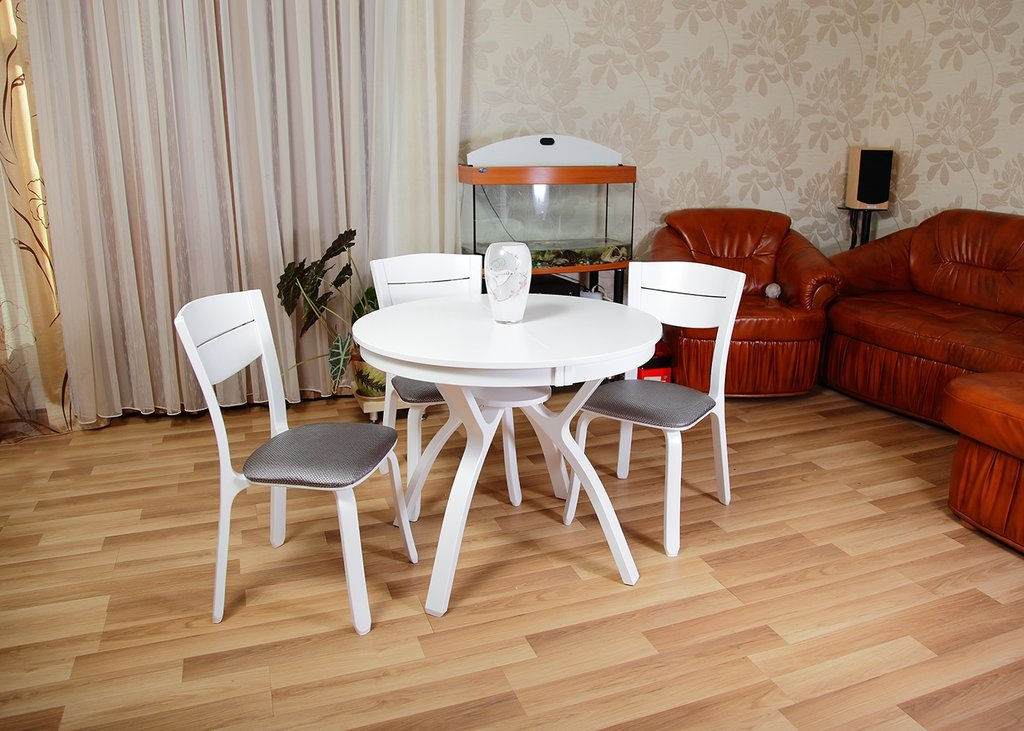 Столы деревянные: Стол Мадрид К 900 раскладной. в АРТ-МЕБЕЛЬ НН