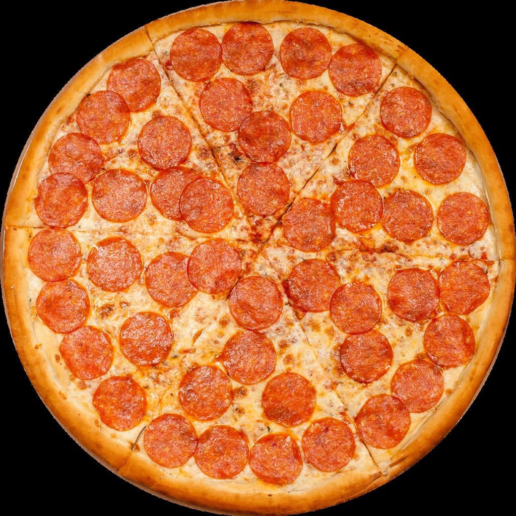 Пицца на тонком тесте: Пепперони в Сбарро