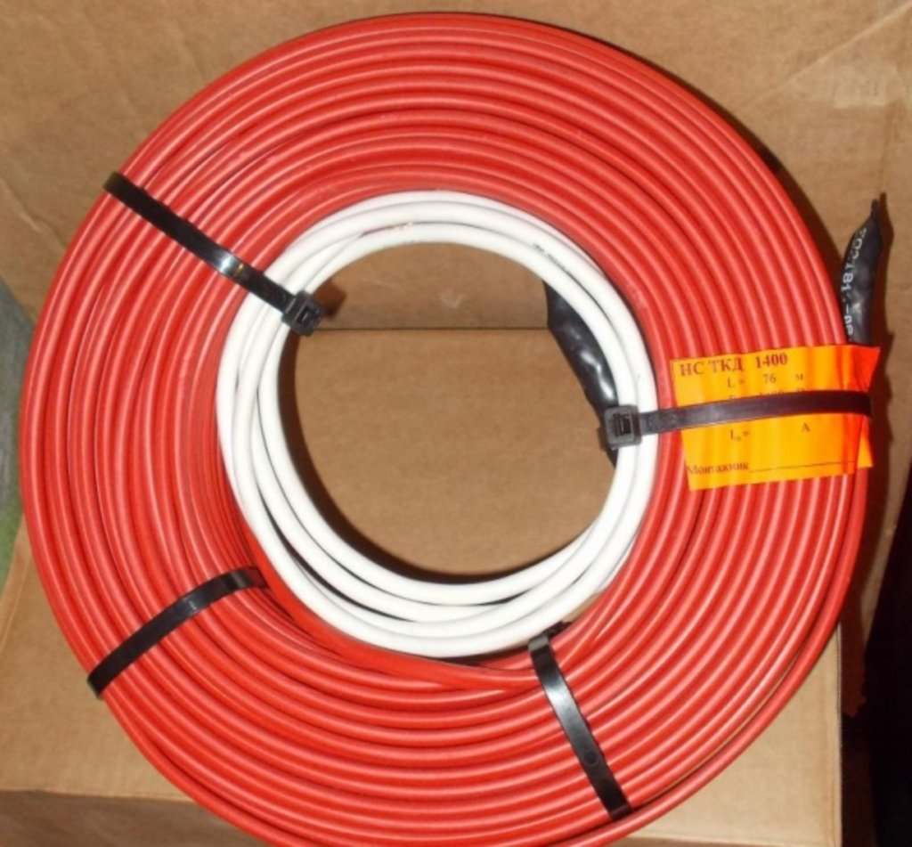 Теплокабель одножильный экранированный греющий кабель (Россия): кабель ТК-1900 в Теплолюкс-К, инженерная компания