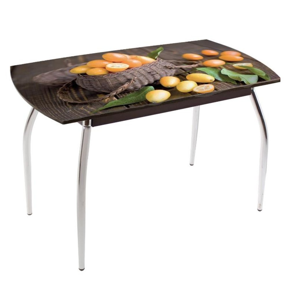 Столы обеденные: Стол обеденный без полки 5.1 ДП77 в Уютный дом