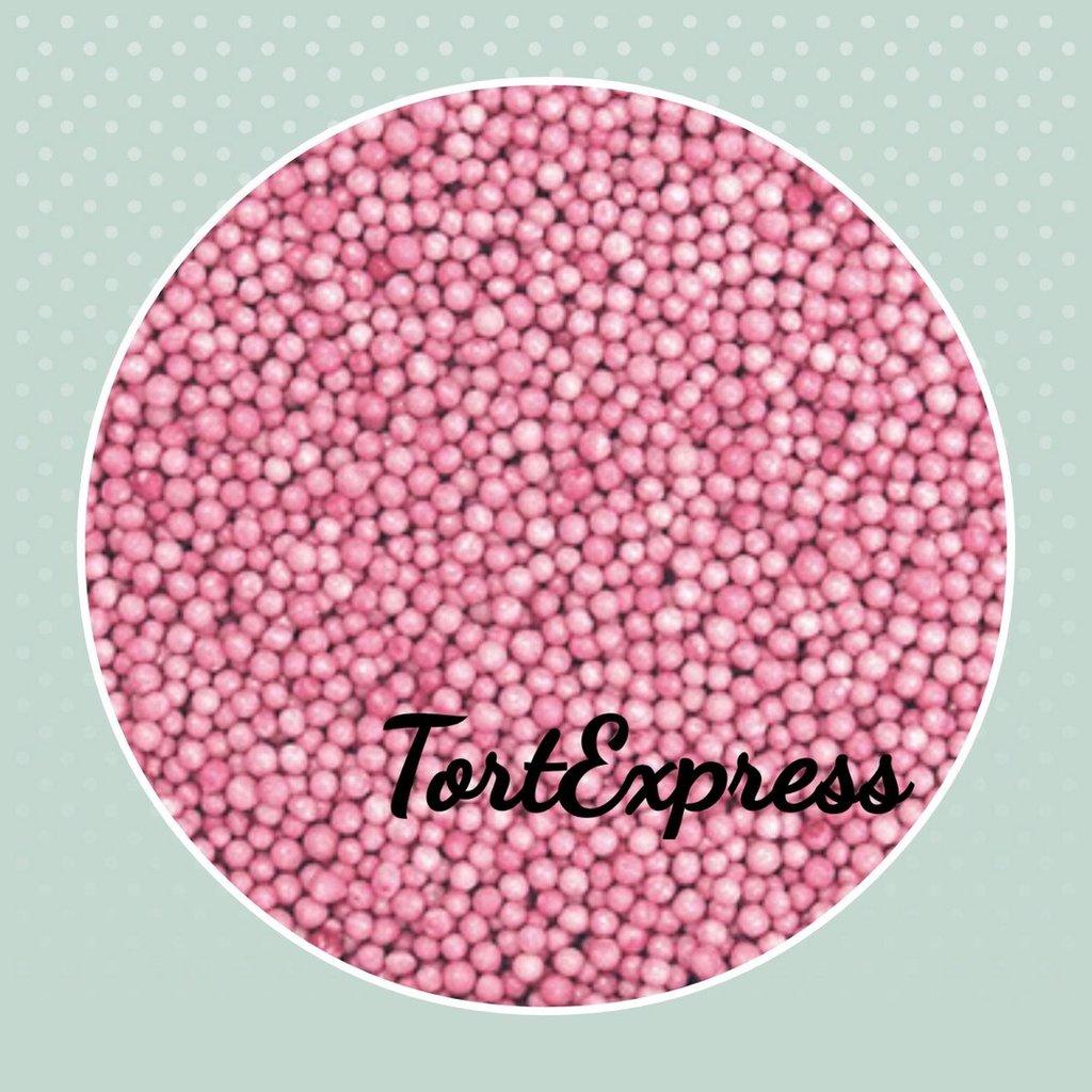 Посыпки декоративные: Шарики розовые 5 мм, 50 гр в ТортExpress
