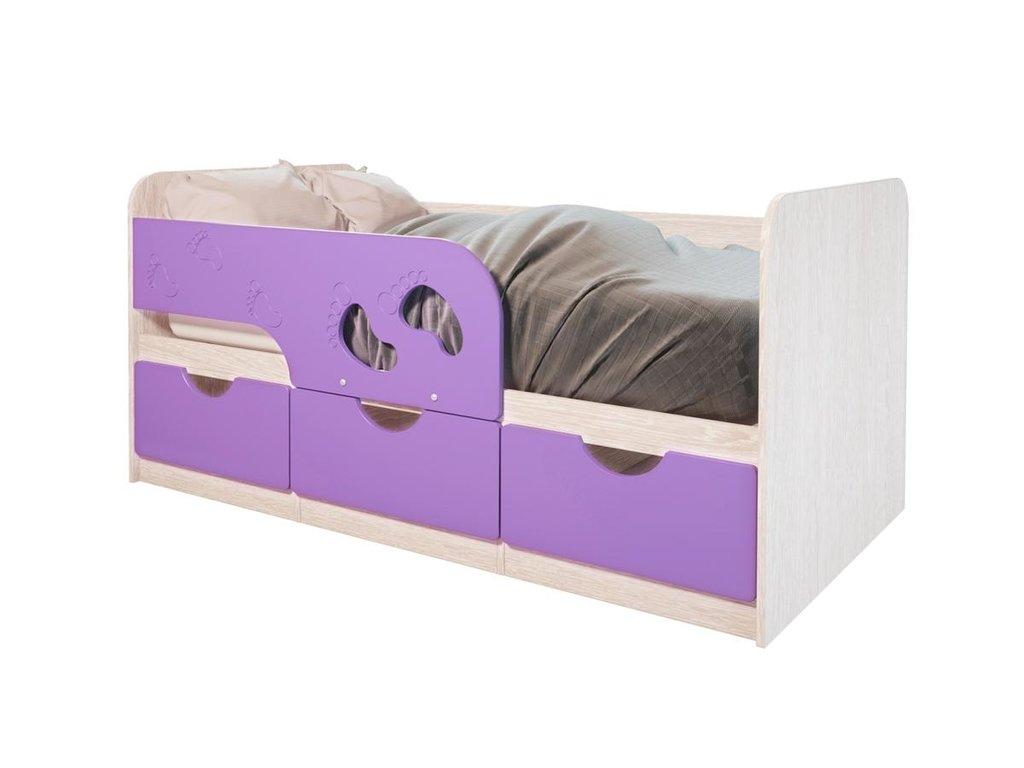 Детские: Кровать детская Минима (Лиловый сад) в Vesa