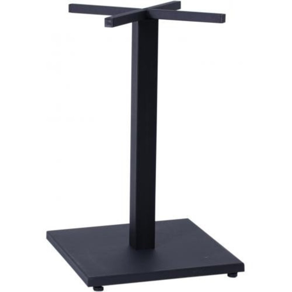 Столы для ресторана, бара, кафе, столовых: Стол квадрат 800х800, подстолья 01 R-80M чёрная в АРТ-МЕБЕЛЬ НН