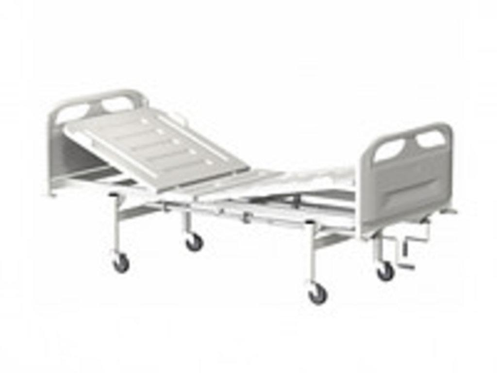 Медицинские кровати: Кровать медицинская для лежачих больных КМФТ145 МСК-4145 в Техномед, ООО
