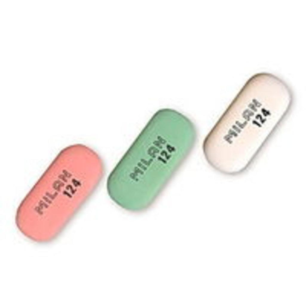 Ластики, точилки: Ластик Milan 124 овальный цветной 1шт в Шедевр, художественный салон