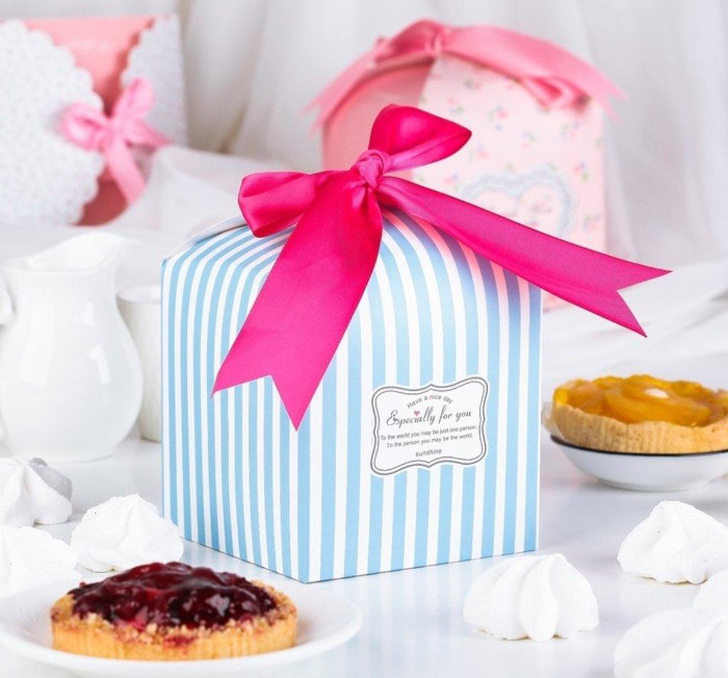 Упаковка: Коробка сборная  для сладкого 12х12х12 в ТортExpress