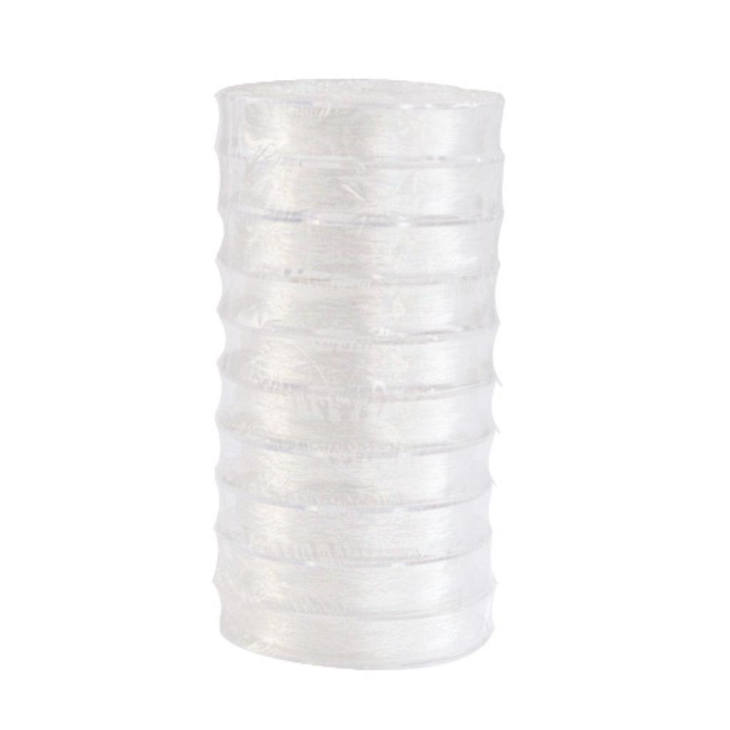 Нить для бисера: Нить силиконовая для бисера 0,4мм*25м(прозрачный) в Редиант-НК