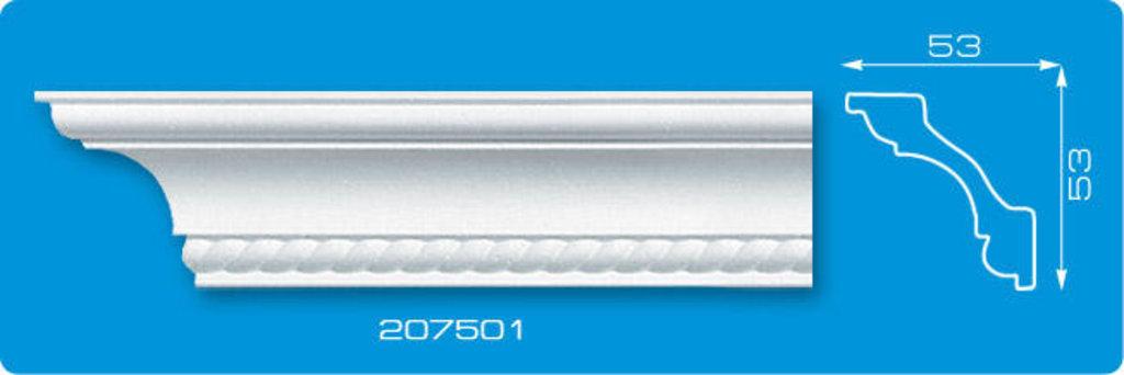 Плинтуса потолочные: Плинтус потолочный ФОРМАТ 207501 инжекционный длина 2м в Мир Потолков