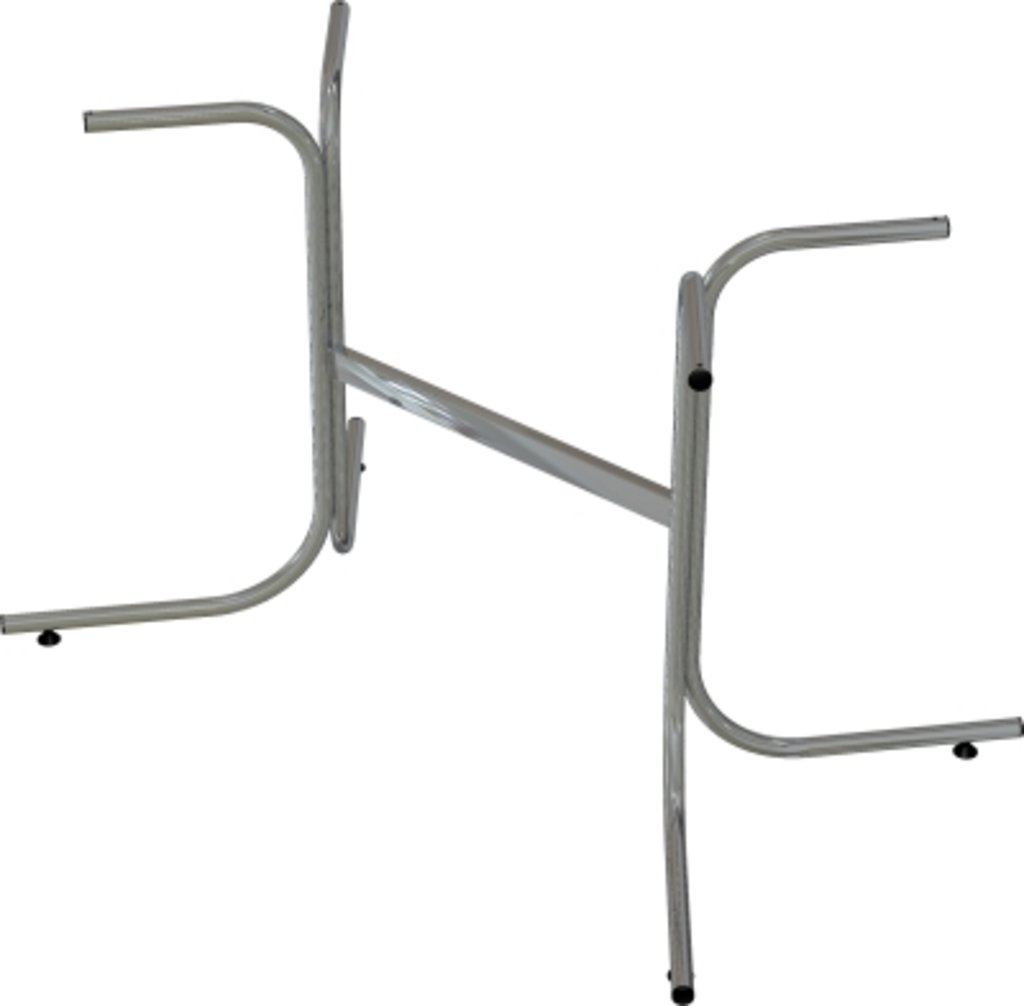 Столы для ресторана, бара, кафе, столовых: Стол прямоугольник 120х60, подстолья телескоп серая в АРТ-МЕБЕЛЬ НН
