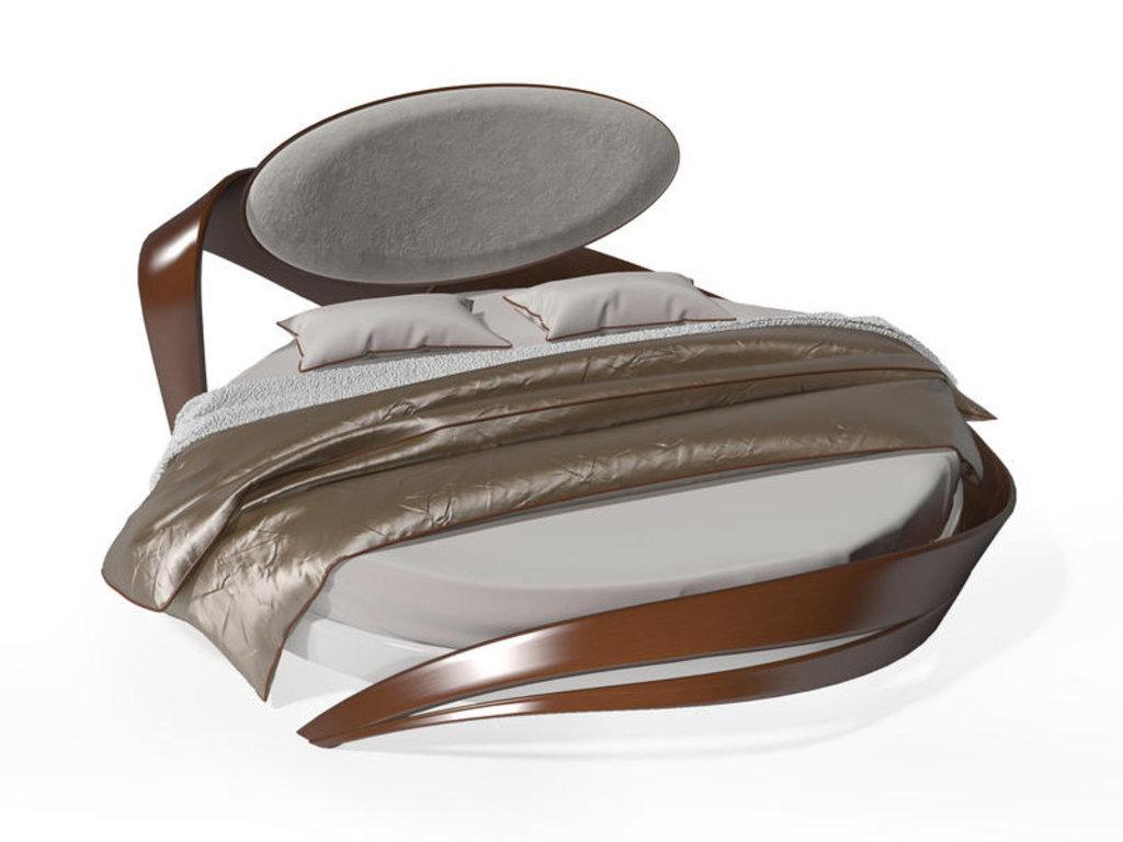 Кровати: Круглая кровать Бразо 8т в Актуальный дизайн