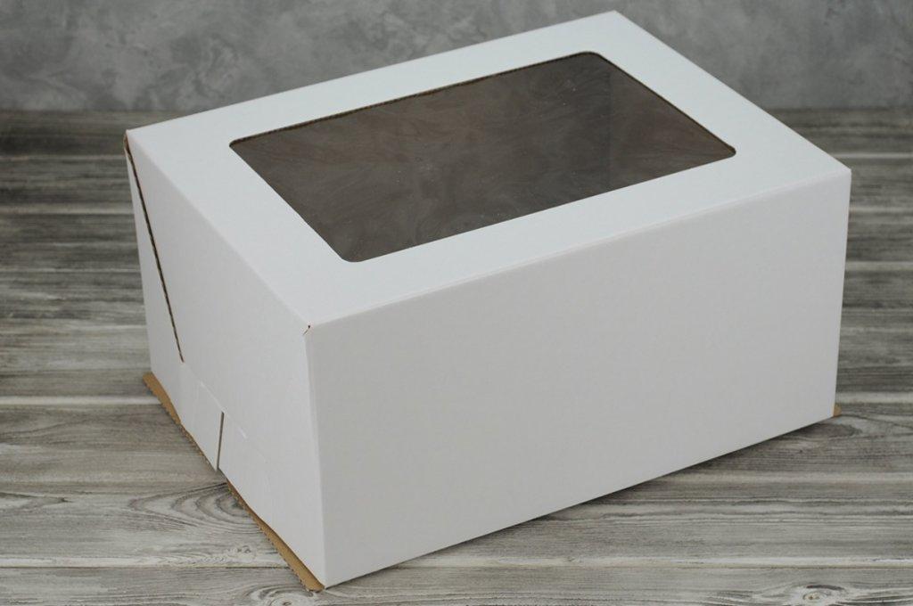 Упаковка: КОРОБКА для торта С ОКНОМ 300*400*200 в ТортExpress